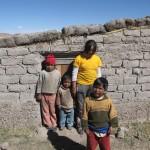 serre familiale à Challapata
