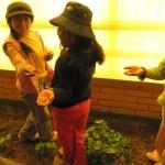 semis à l'école de Pallina Laja